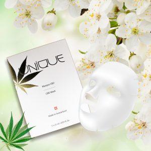 Unique Skincare CBD sheet mask